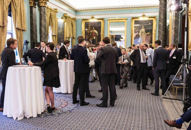 Last year, the Think Tank Awards took place at the Institute of Directors in London. Photo: Prospect Magazine/Paul Heartfield LtD