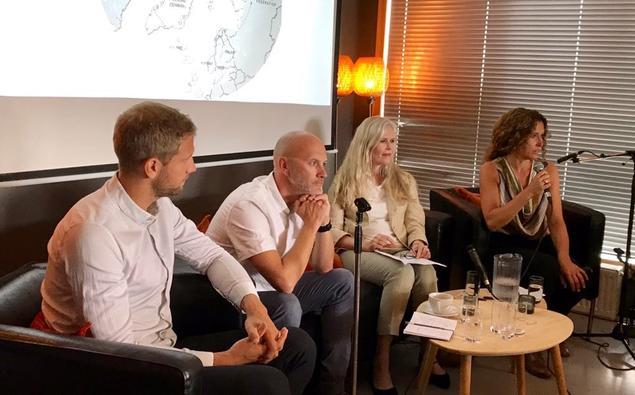 Julie Wilhelmsen, Gørild Heggelund, Svein Vigeland Rottem and Andreas Østhagen. Photo: Karoline H. Flåm