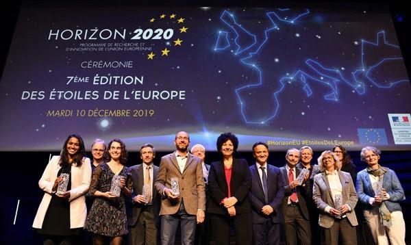 'Stars of Europe award winners 2019.