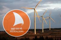 Norsk vindkraft på Arendalsuka 2021. Foto: Jarle Aasland