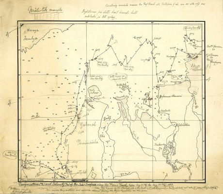 Fram expedition map