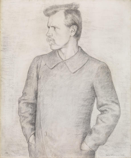 Portrait of Fridtjof Nansen by Erik Werenskiold 1893