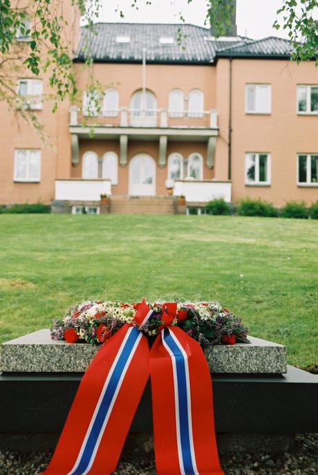 Polhøgda og Fridtjof Nansens grav