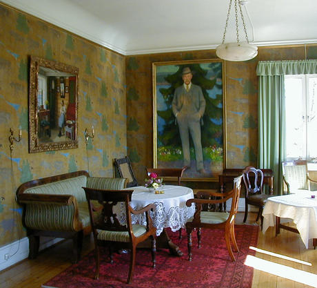 Polhøgda. The Ladies' Drawing Room