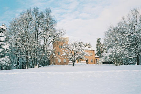 Polhøgda in winter