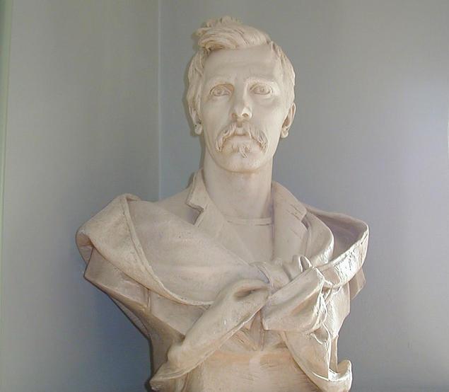 Statue of Fridtjof Nansen at the Fridtjof Nansen Institute at Polhøgda. Photo: Jan D. Sørensen