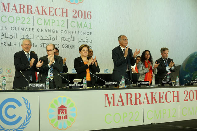 The COP22 at Marrakech in November. Photo: COP22 Flickr