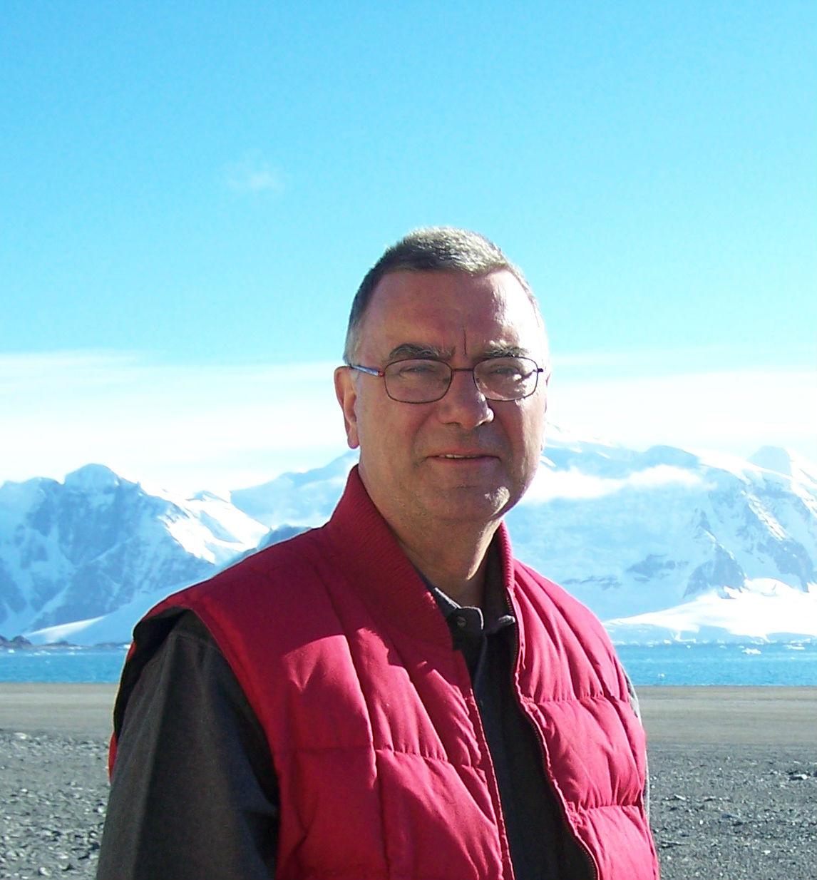 Peter Harrison in Antarctica. Photo: Private