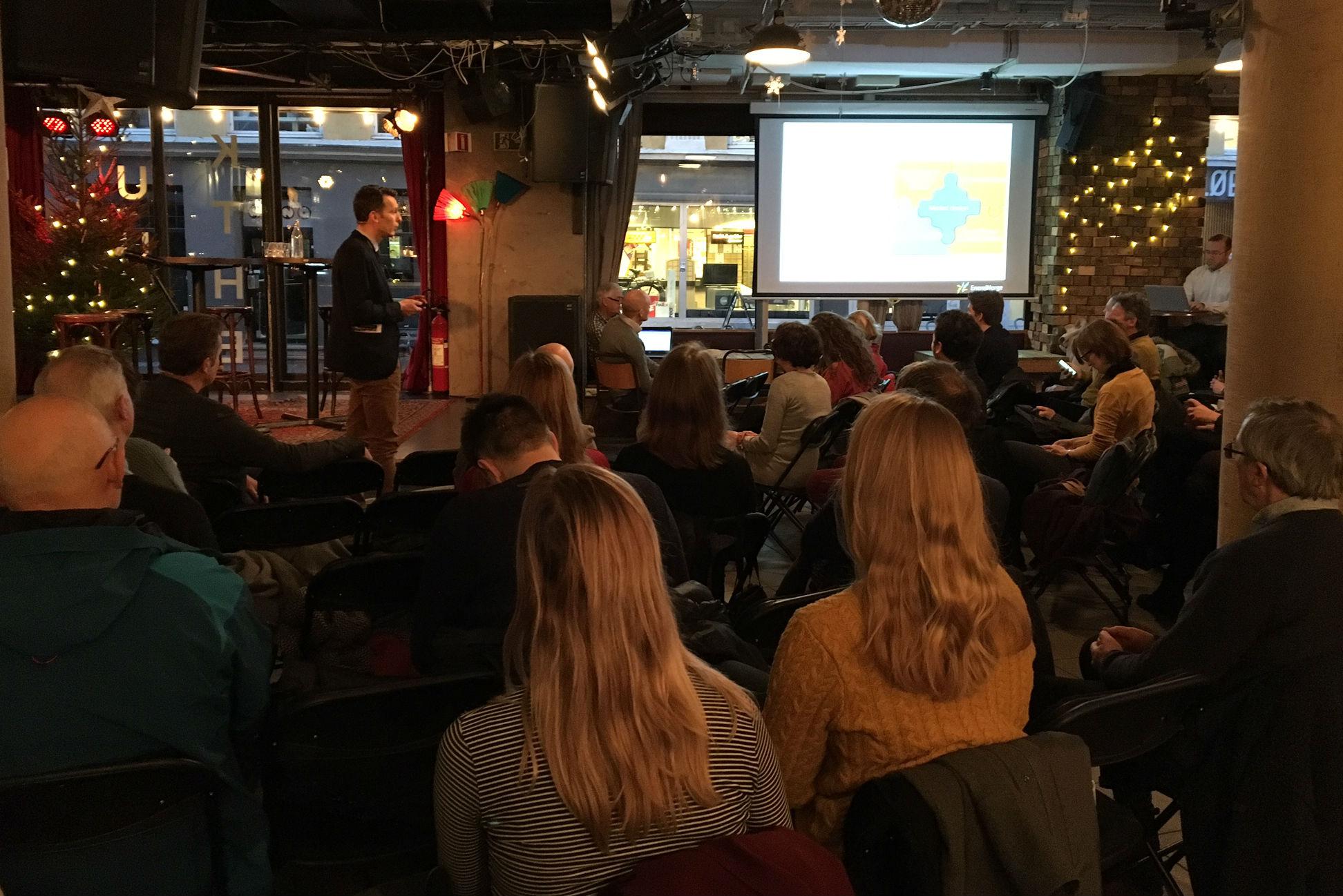 Cicep breakfast meeting 13 December. Photo: Karoline Flåm, FNI