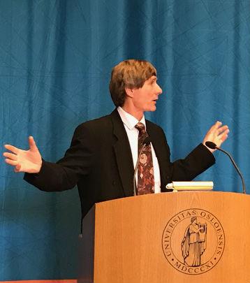 Professor Axel Borchgrevink. Photo: Karoline Flåm