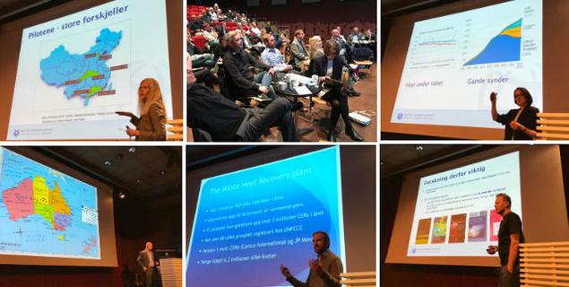 Emissions trading conference at Litteraturhuset 10 May 2017. Photo: Karoline Flåm