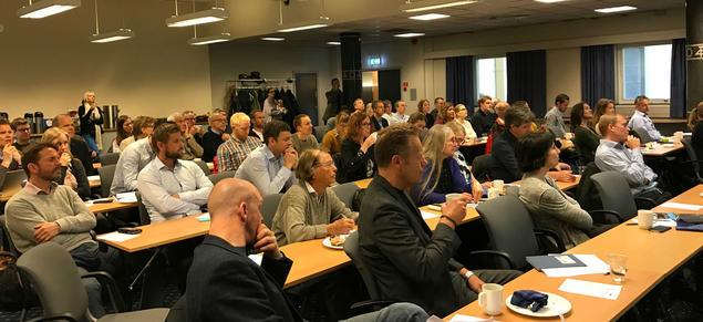 Breakfast seminar 16 May. Photo: Karoline Flåm