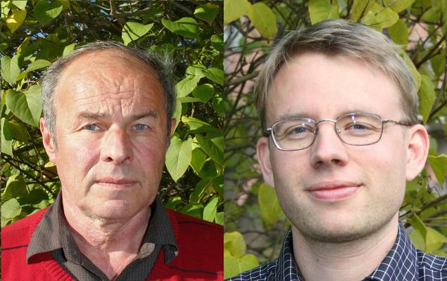 Steinar Andresen and Lars H. Gulbrandsen. Photo: Jan D. Sørensen