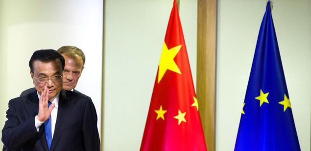 China's Prime Minister and EU Council's President Donald Tusk. Photo: European Council
