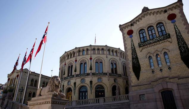 The Norwegian Parliament. Photo: Stortinget
