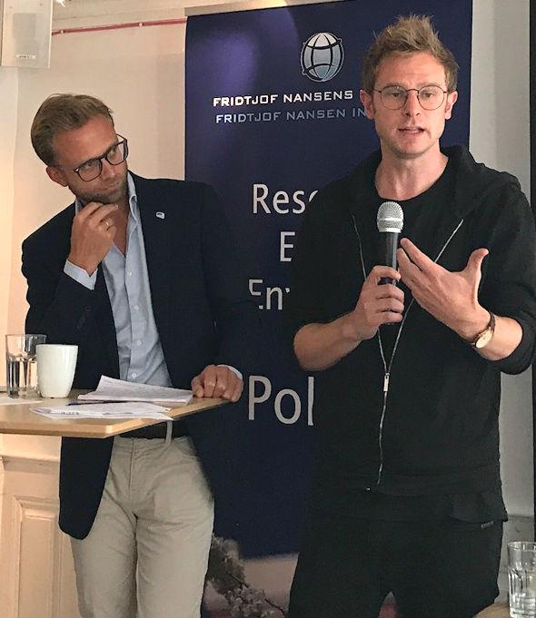 Nikolai Astrup and Snorre Valen. Photo: Karoline Flåm