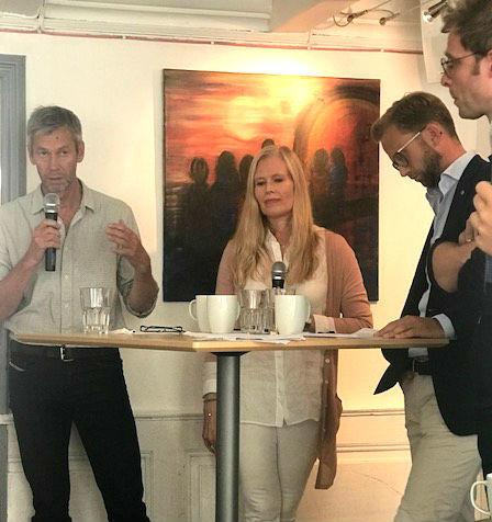 Panel debate at Arendalsuka 2017. Photo: FNI