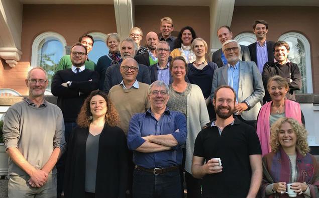 The biodiversity governance network. Photo: Karoline H. Flåm, FNI
