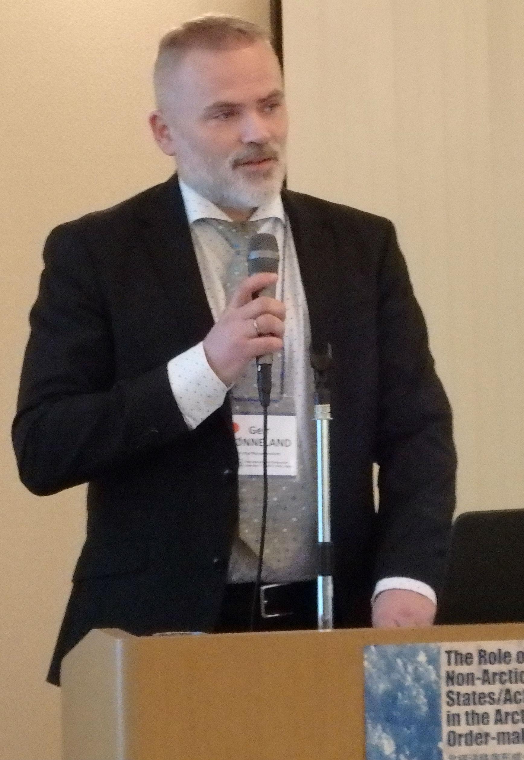 FNI director Geir Hønneland