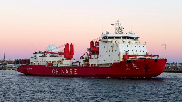 The Chinese icebreaker Xue Long (Photo: Bahnfrend)