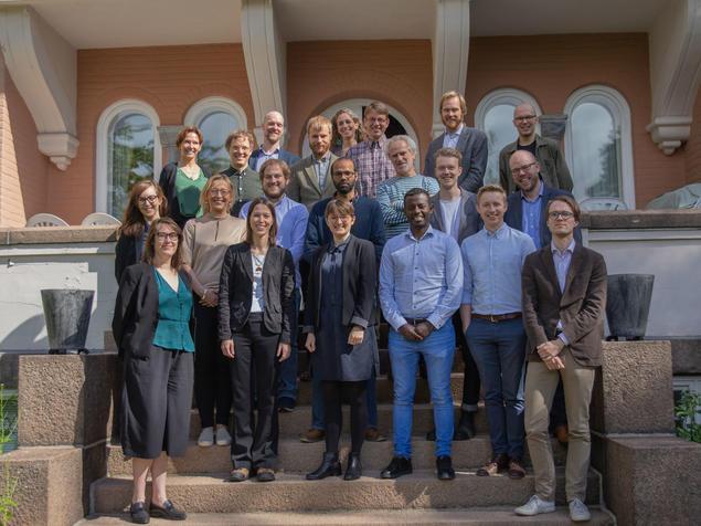 Workshop at FNI 22 - 23 May 2019. Photo: Jan D. Sørensen