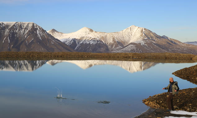 Svalbard. Photo: Karoline H. Flåm